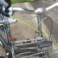 自転車の修理をしました